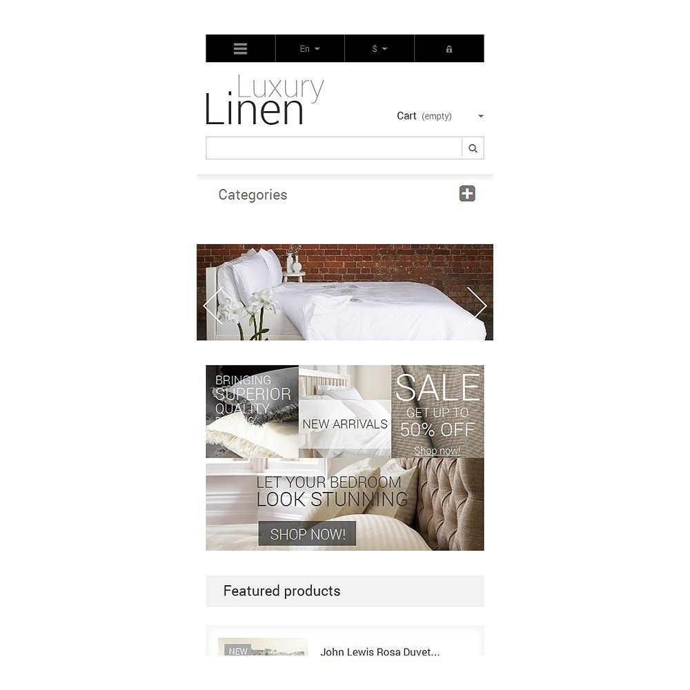 theme - Art & Culture - Luxury Linen Store - 8