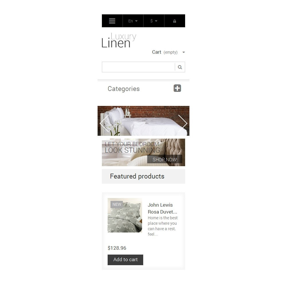 theme - Art & Culture - Luxury Linen Store - 9