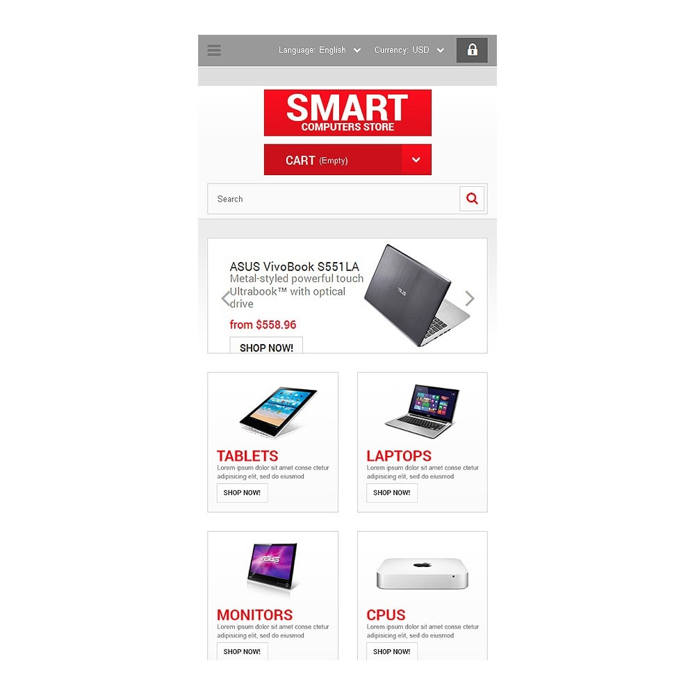 theme - Electronics & Computers - Smart Computers Store - 8