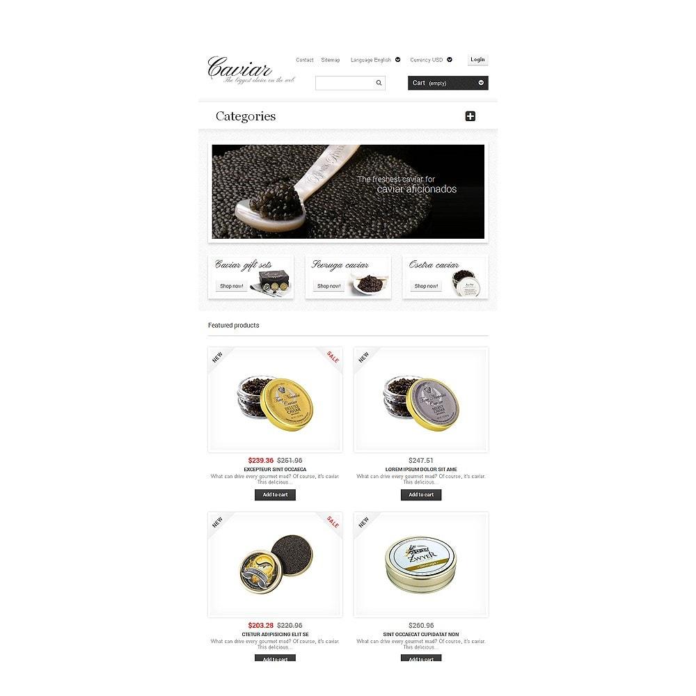 theme - Eten & Restaurant - Caviar Online Store - 7