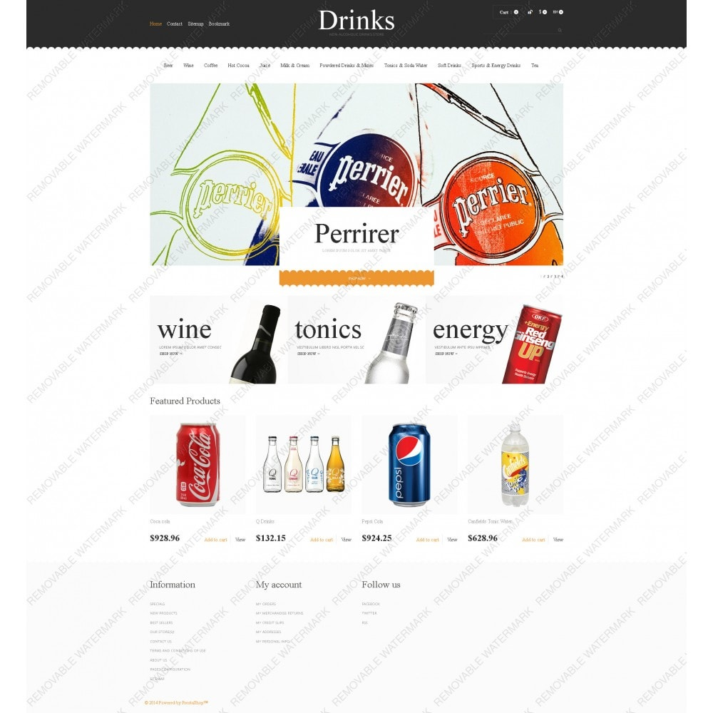 theme - Alimentos & Restaurantes - Drinks for Scorching Days - 5