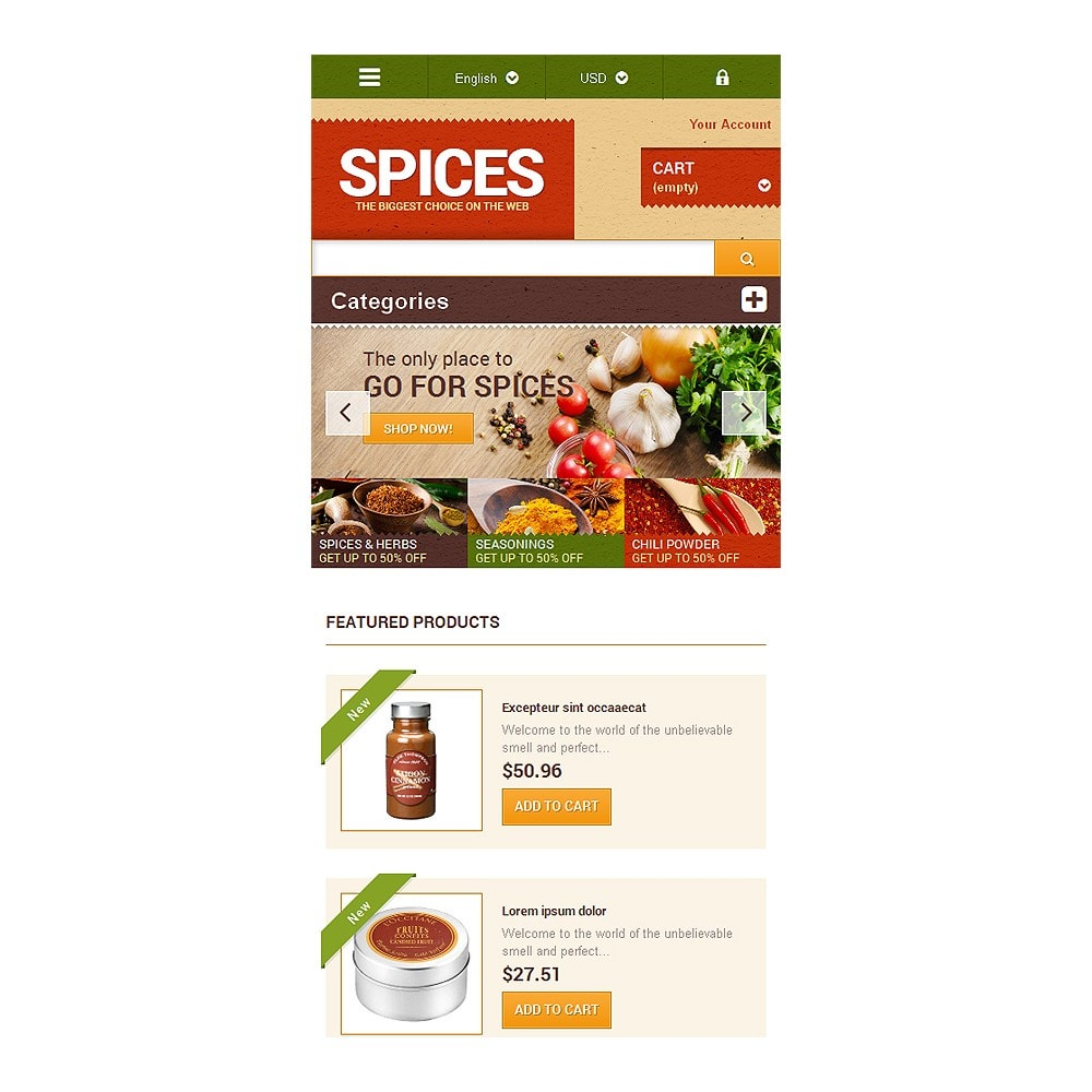 theme - Lebensmittel & Restaurants - Spice shop - 8