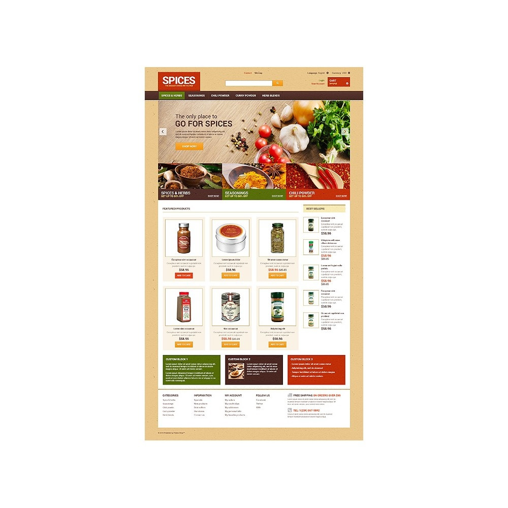 theme - Lebensmittel & Restaurants - Spice shop - 10