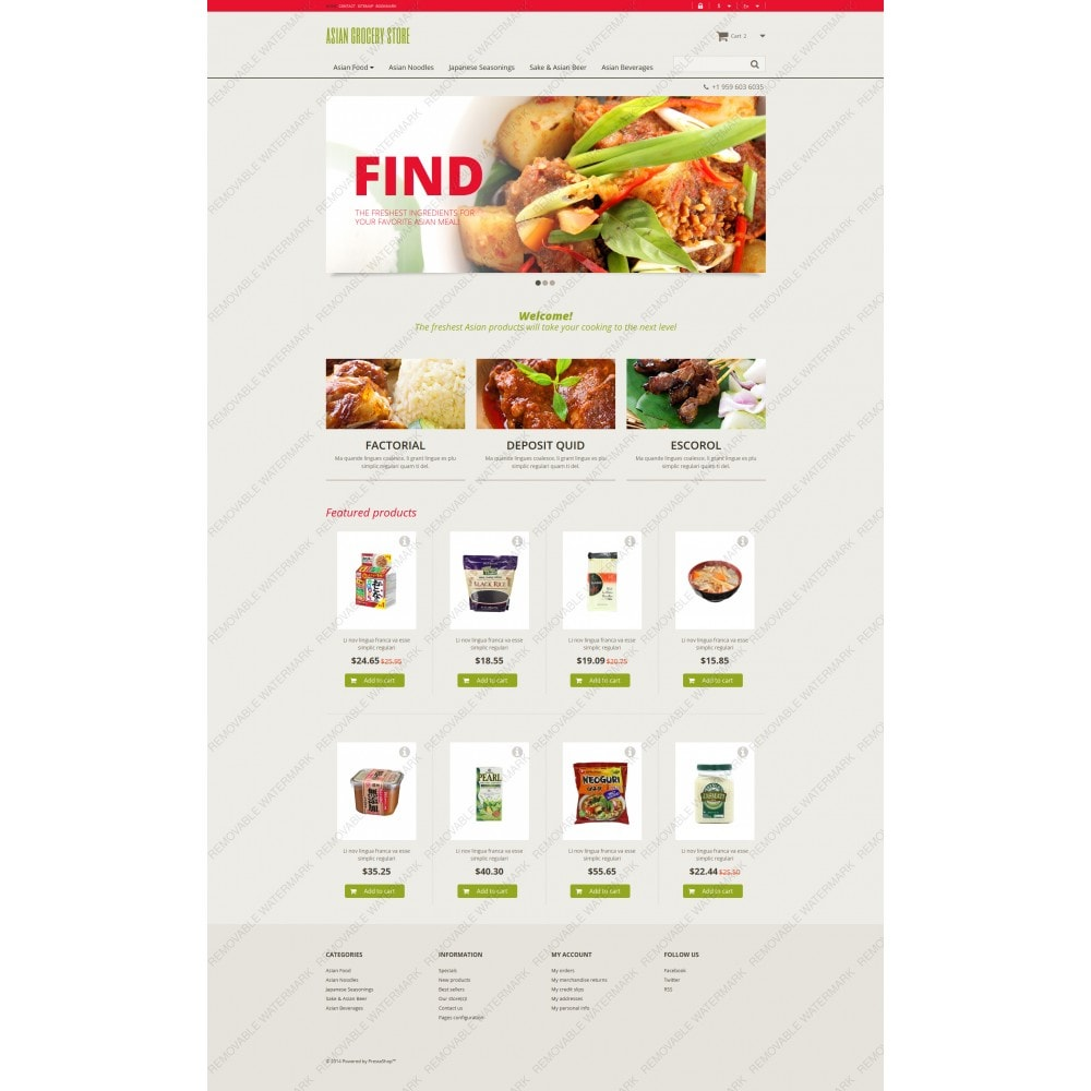 theme - Eten & Restaurant - Asian Grocery Store - 3