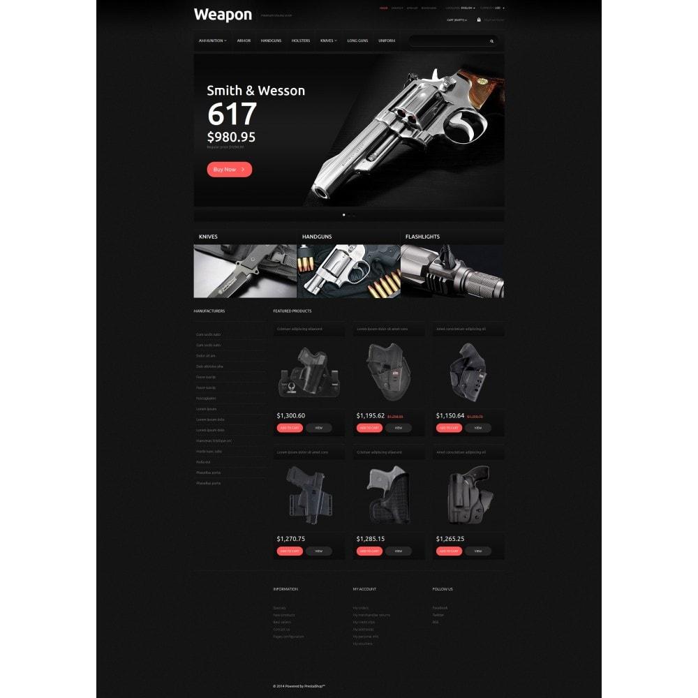 theme - Шаблоны PrestaShop - Weapons for SelfDefense - 5