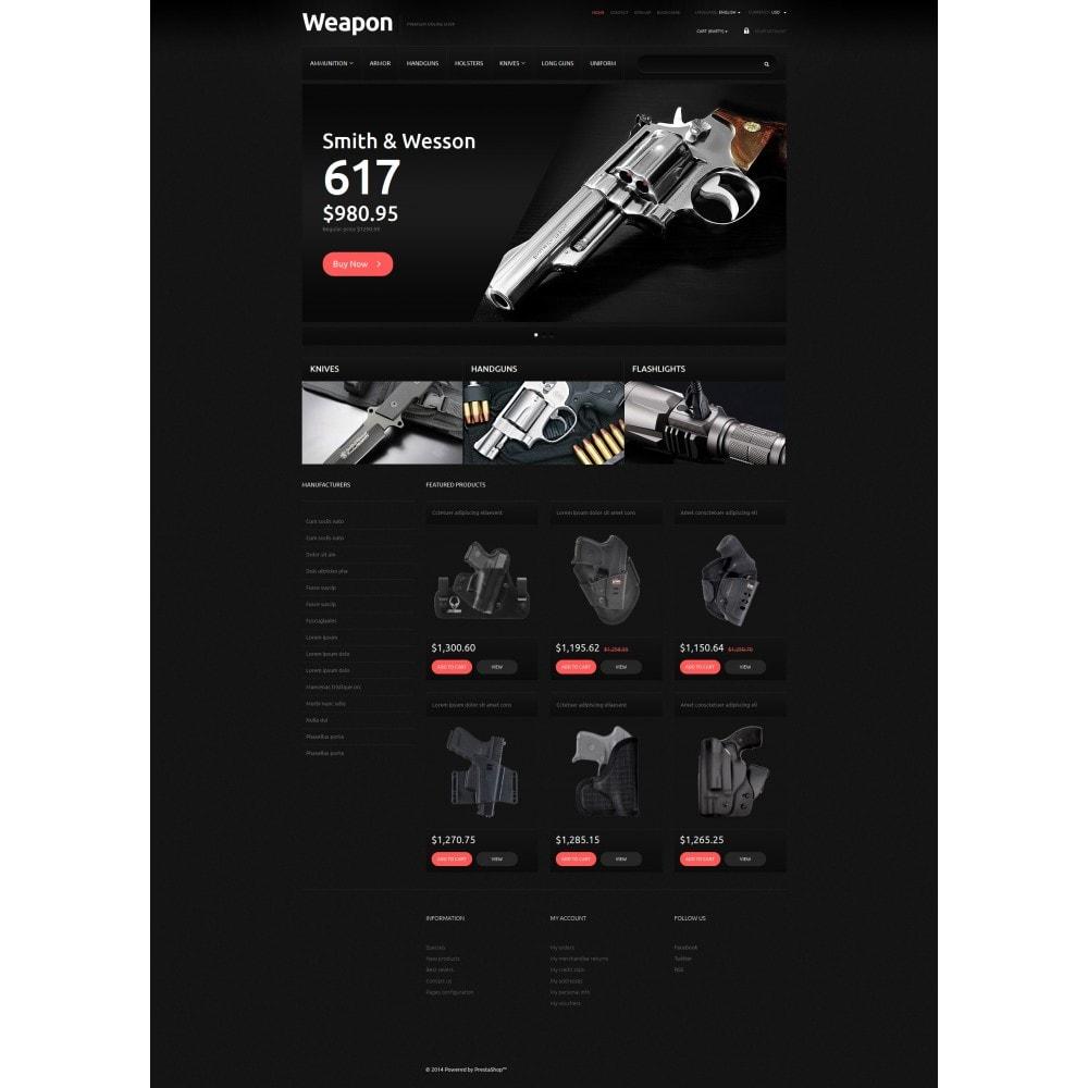 theme - PrestaShop thema's - Weapons for SelfDefense - 6