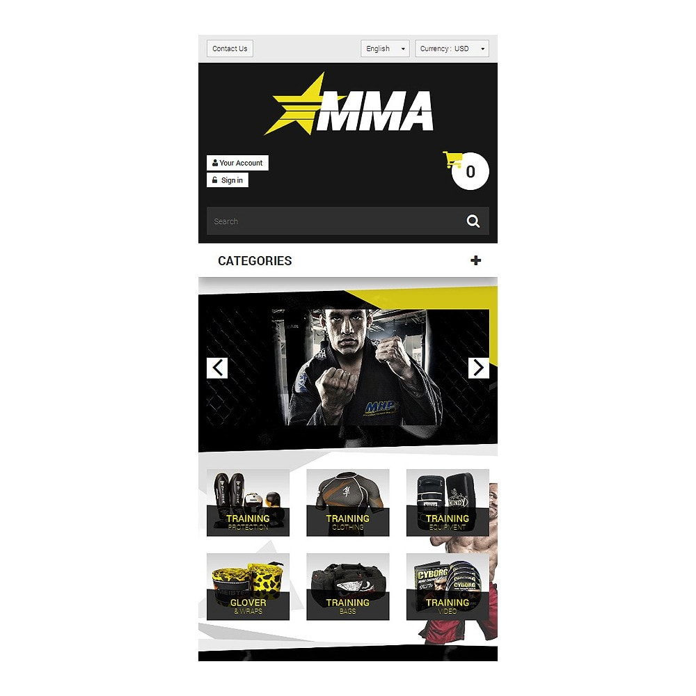theme - Sports, Activities & Travel - MMA Store - 8