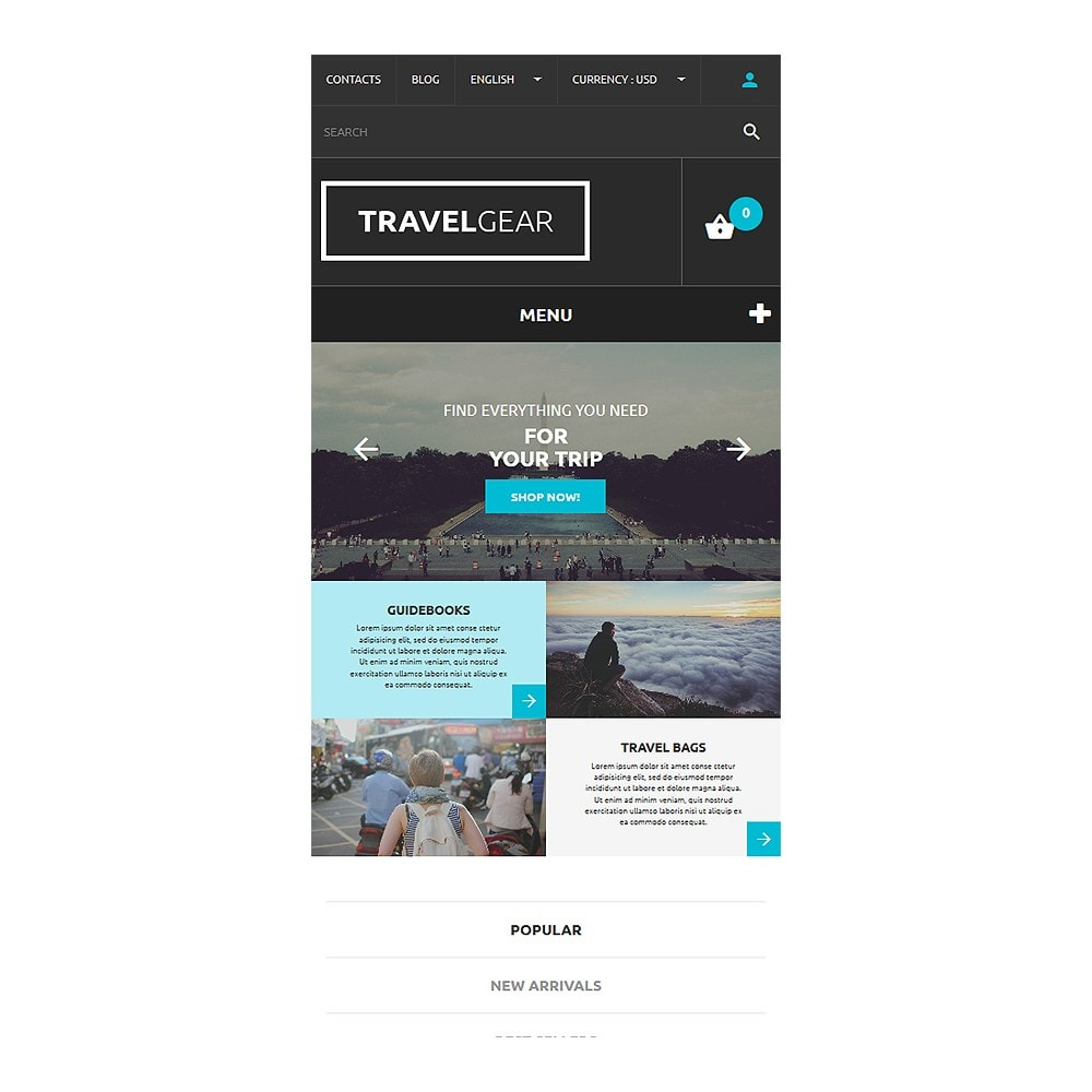 theme - Sports, Activities & Travel - Travel Gear - 8
