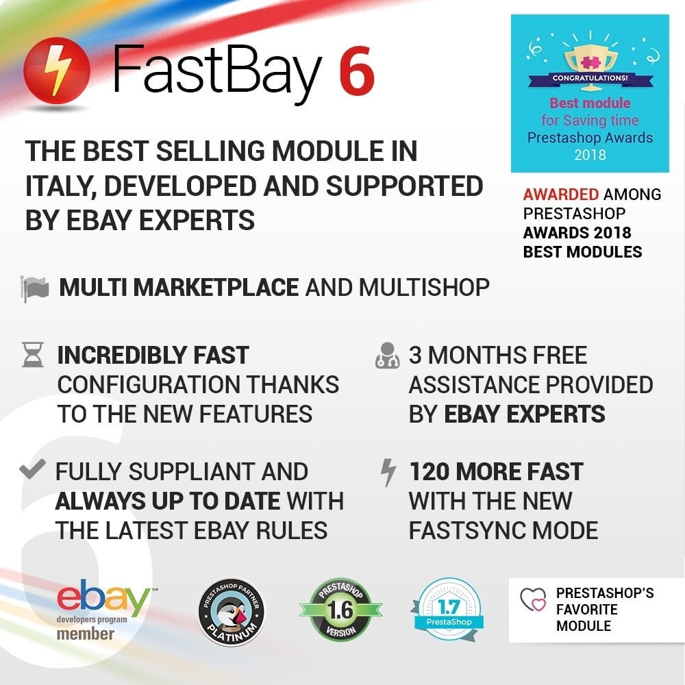 module - Revenda (marketplace) - FastBay - eBay Marketplace synchronization - 1