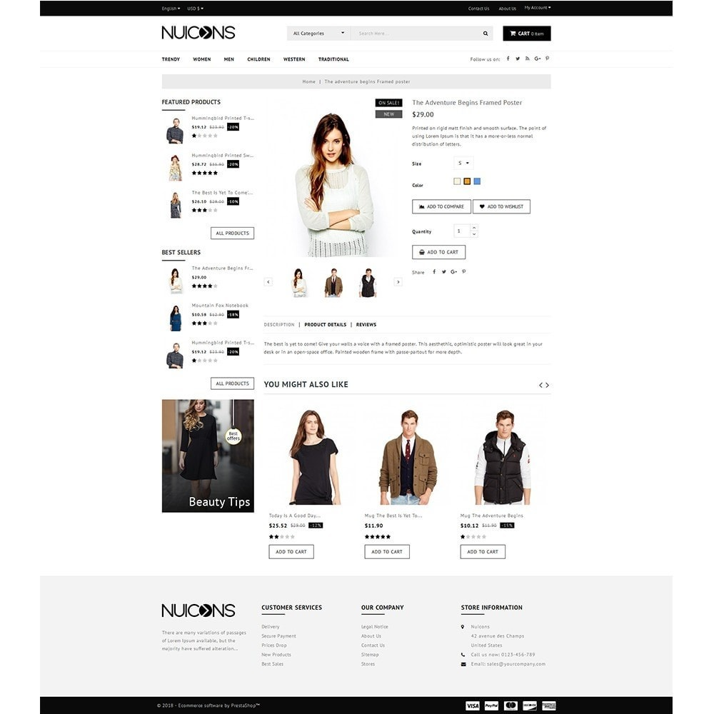 theme - Fashion & Shoes - Nuicons Fashion Store - 5