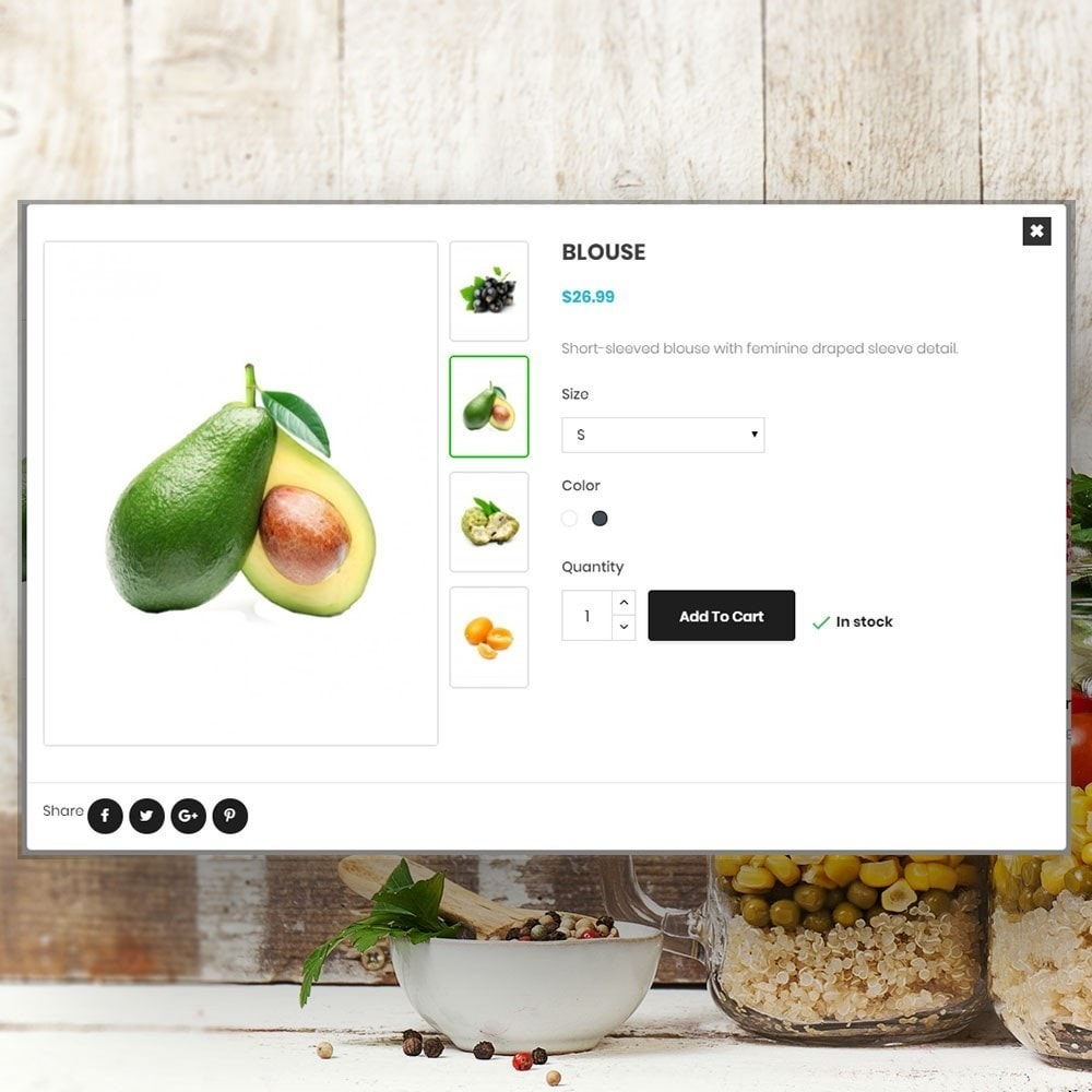 theme - Alimentation & Restauration - Organic vegetable store - 7