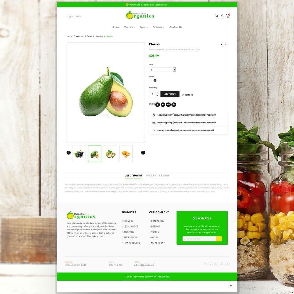 theme - Cibo & Ristorazione - Organic vegetable store - 6