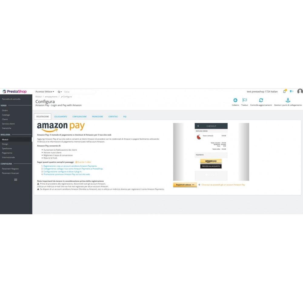 module - Pagamento con Carta di Credito o Wallet - Amazon Pay - 4