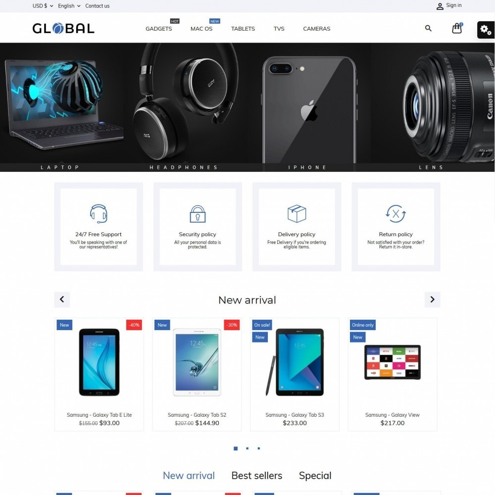 theme - Electronique & High Tech - Global - High-tech Shop - 2