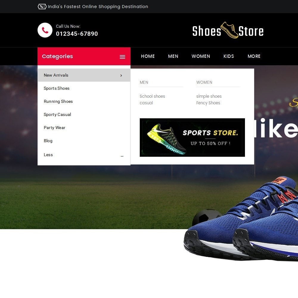theme - Desporto, Actividades & Viagens - Sports Shoes Store - 8