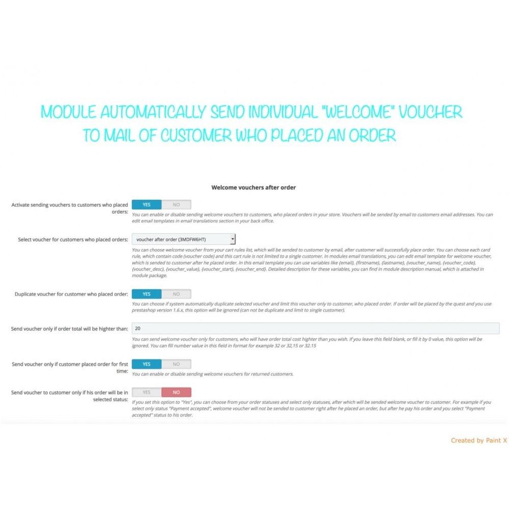 module - Promocje & Prezenty - Wyślij kupon po rejestracji lub zamówieniu - 2