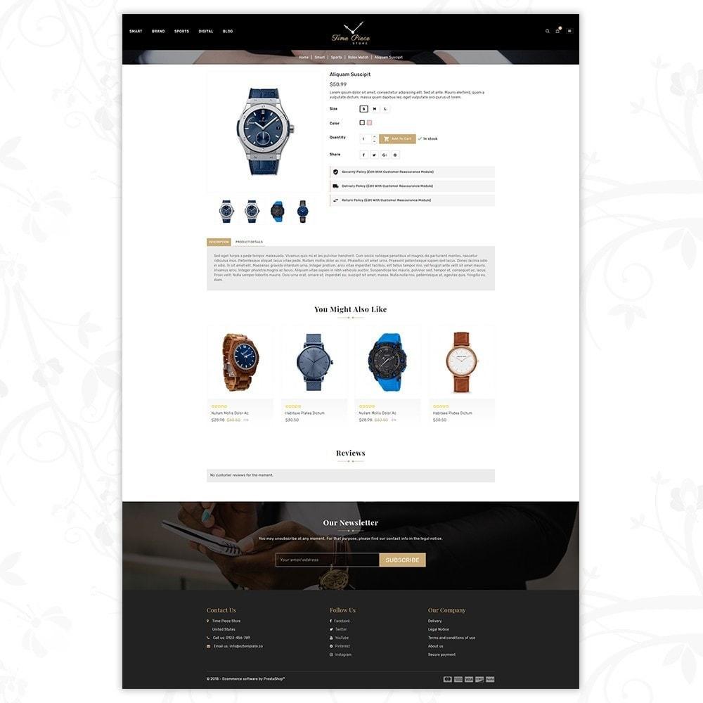 theme - Deportes, Actividades y Viajes - Timepiece - Watch Store - 5
