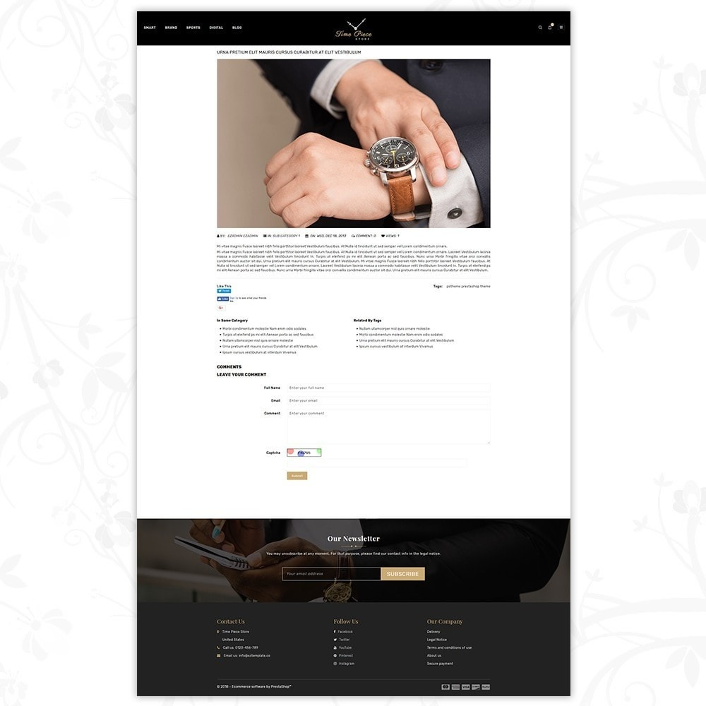 theme - Спорт и Путешествия - Timepiece - Watch Store - 8