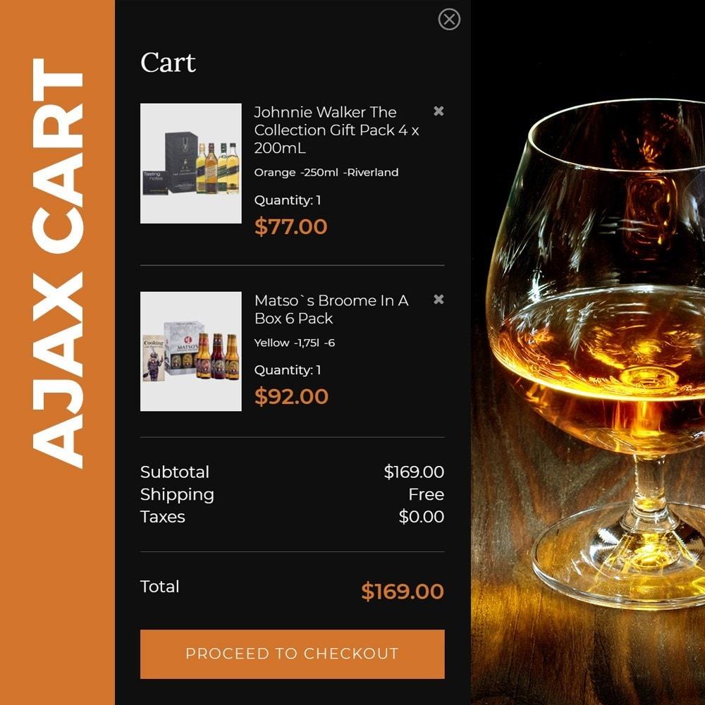 theme - Bebidas y Tabaco - Spirit - Liquor store - 5