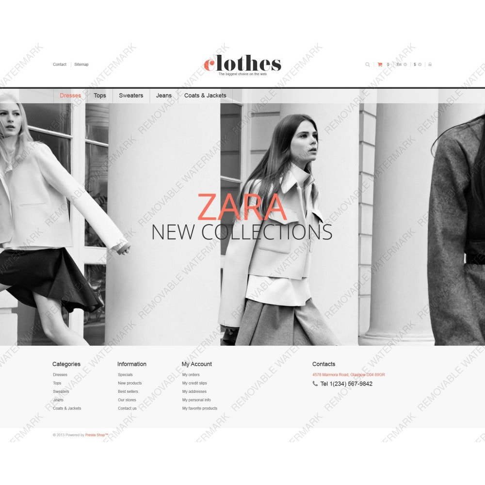 theme - Moda & Obuwie - Responsive Clothes Store - 3