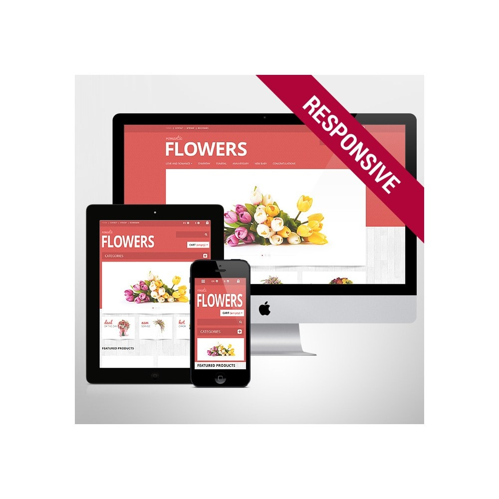 theme - Gifts, Flowers & Celebrations - Flowers Shop - 1