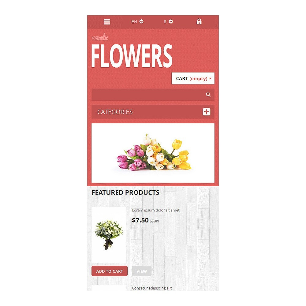 theme - Gifts, Flowers & Celebrations - Flowers Shop - 9