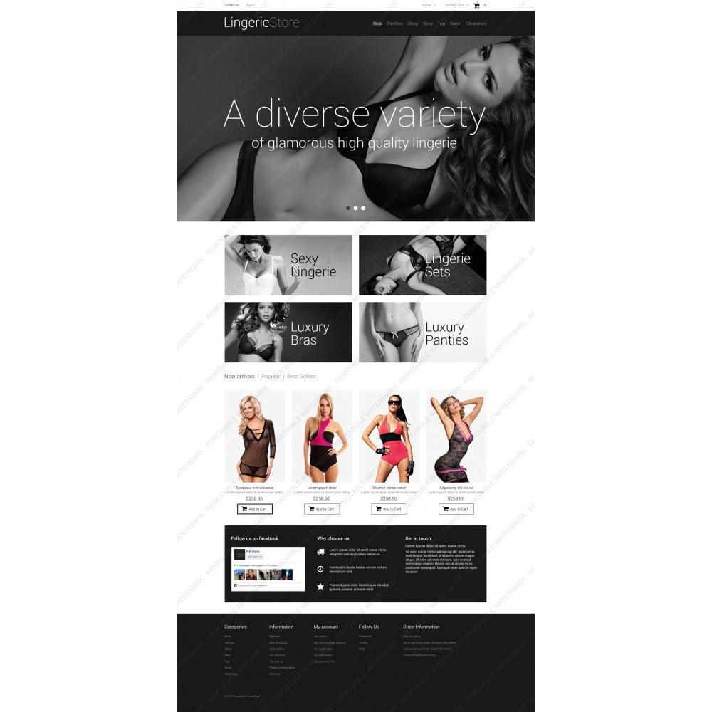 theme - Mode & Chaussures - Vente de lingerie - 3