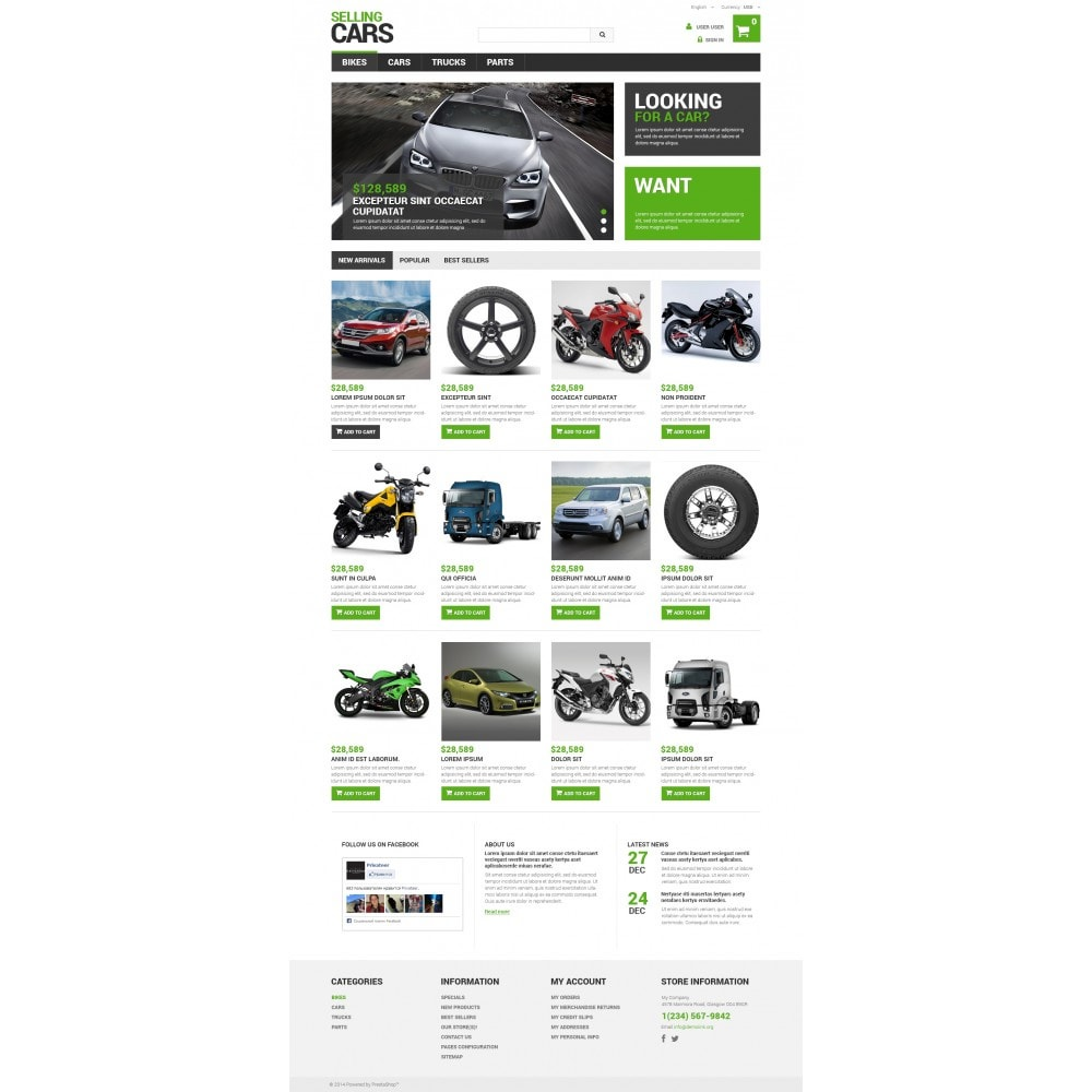 theme - Coches y Motos - Selling Cars - 4
