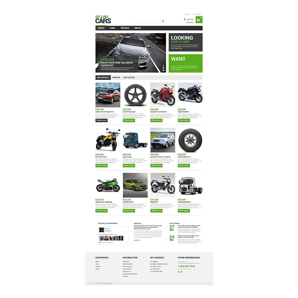 theme - Coches y Motos - Selling Cars - 10