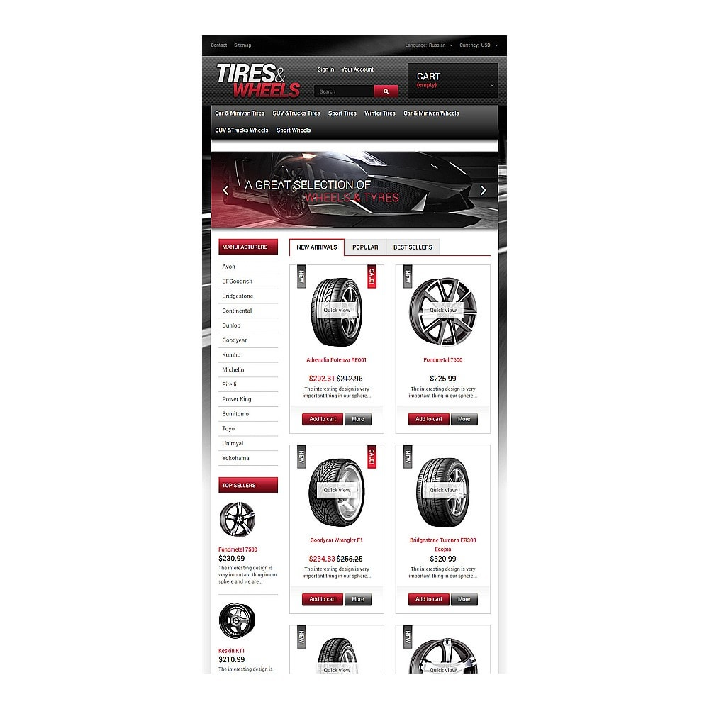 theme - Automotive & Cars - Tires  Wheels for Autos - 7