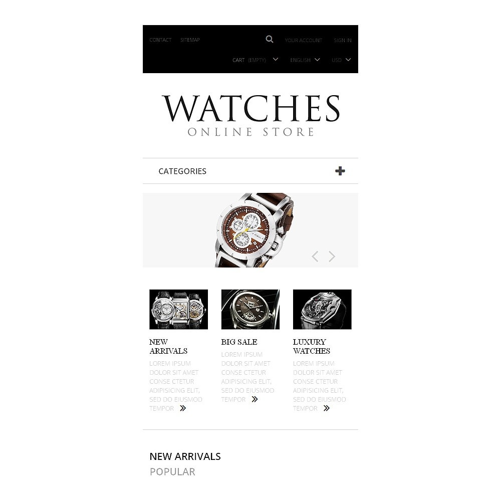 theme - Moda & Obuwie - Exclusive Watches - 8