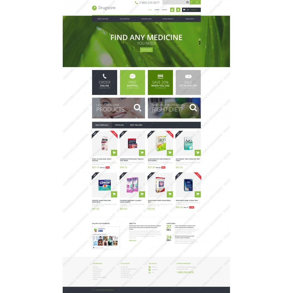 theme - Salute & Bellezza - Medical Ecommerce Business - 3