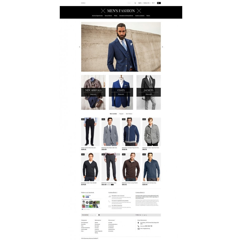 theme - Fashion & Shoes - Men's Corporate Fashion Shop - 2