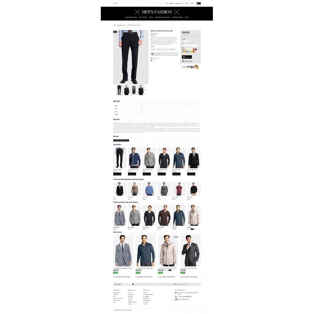 theme - Fashion & Shoes - Men's Corporate Fashion Shop - 6