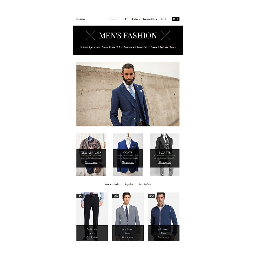 theme - Fashion & Shoes - Men's Corporate Fashion Shop - 7