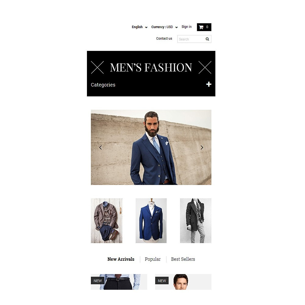 theme - Fashion & Shoes - Men's Corporate Fashion Shop - 8