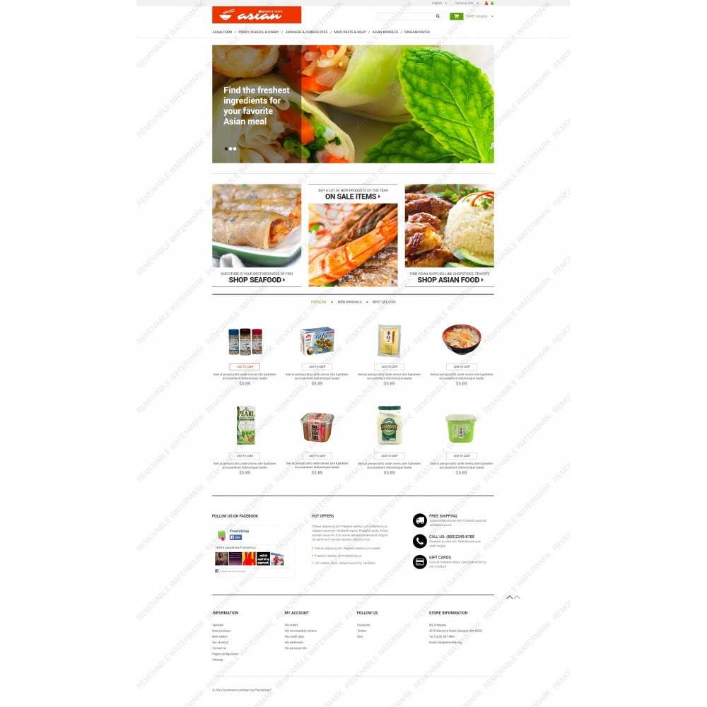 theme - Alimentos & Restaurantes - Asian Grocery - 3