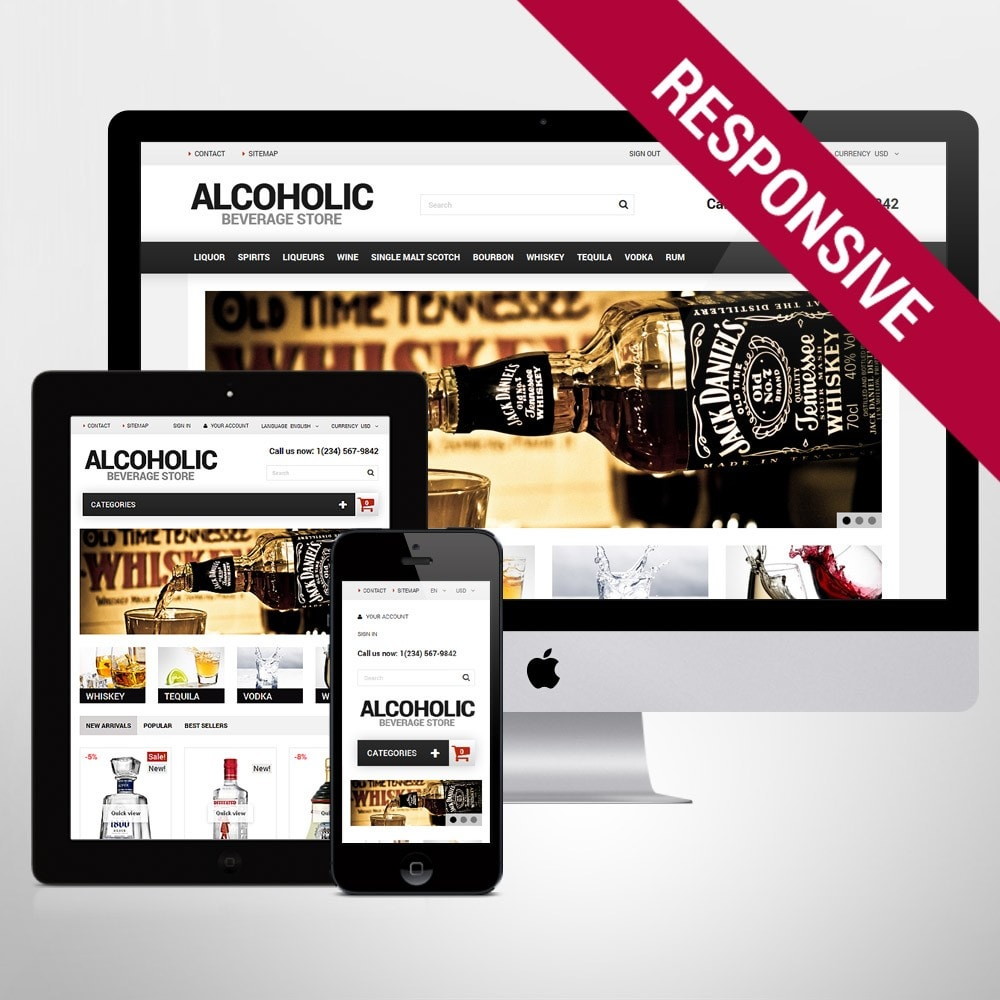 theme - Lebensmittel & Restaurants - Alcoholic Beverage Store - 1