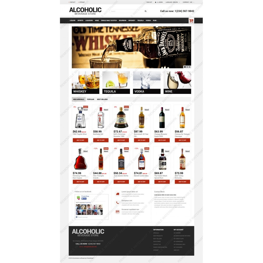 theme - Lebensmittel & Restaurants - Alcoholic Beverage Store - 5