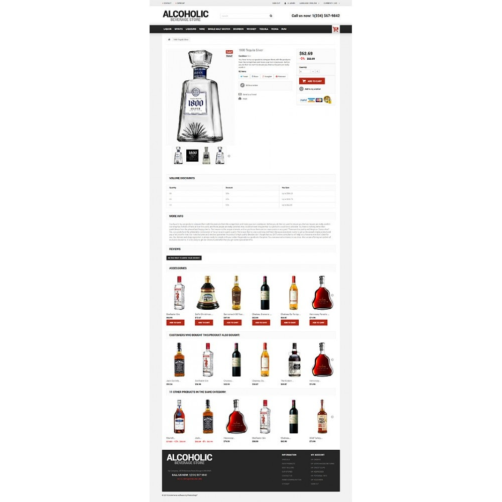 theme - Lebensmittel & Restaurants - Alcoholic Beverage Store - 6