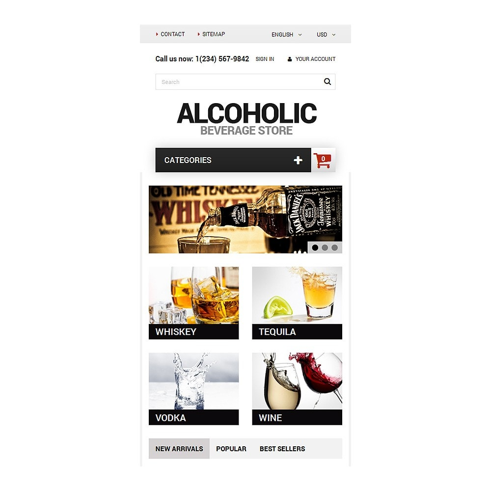 theme - Lebensmittel & Restaurants - Alcoholic Beverage Store - 8