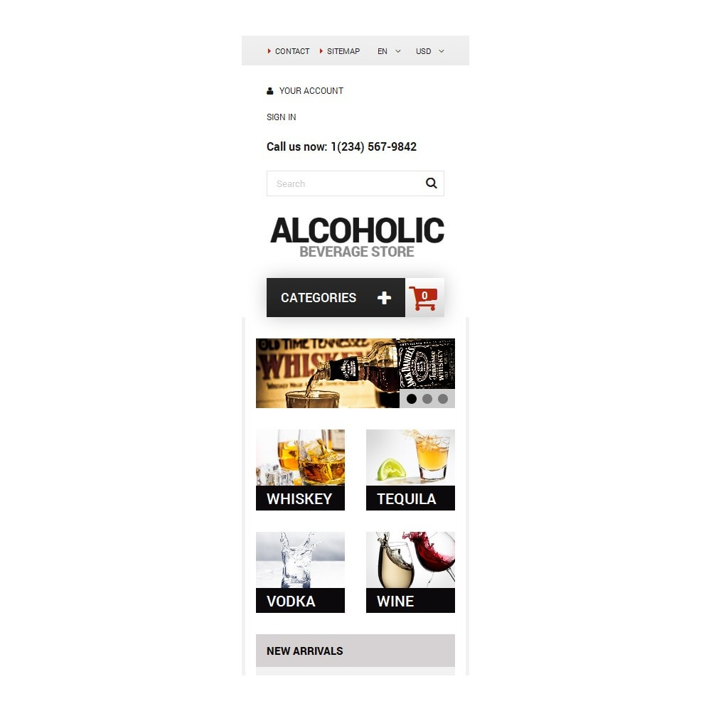 theme - Lebensmittel & Restaurants - Alcoholic Beverage Store - 9