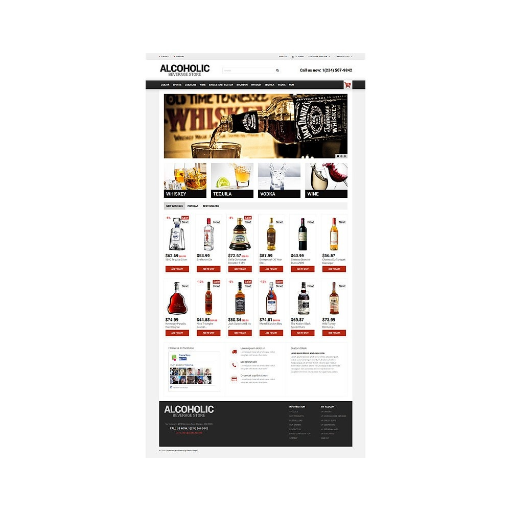 theme - Lebensmittel & Restaurants - Alcoholic Beverage Store - 10