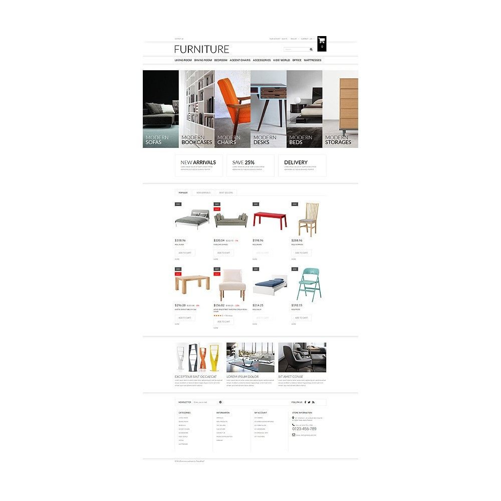 theme - Kultura & Sztuka - Selling Furniture Online - 10