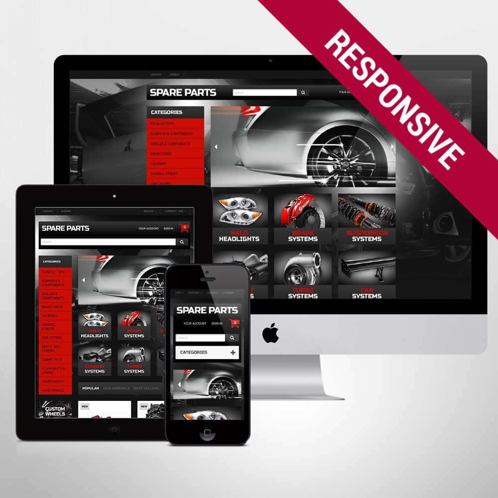 theme - Automotive & Cars - Automobile Replacement Parts - 1