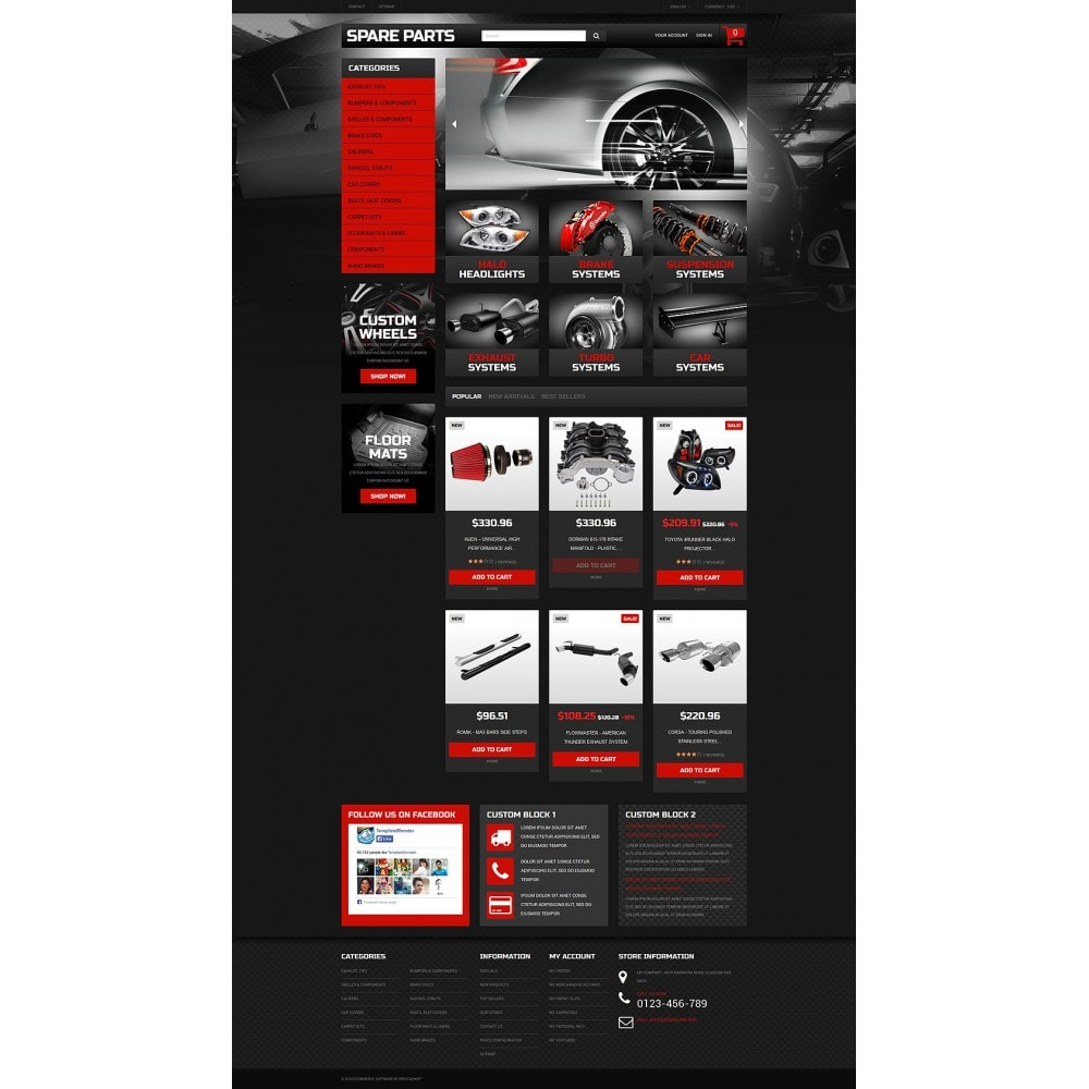 theme - Auto & Moto - Automobile Replacement Parts - 2