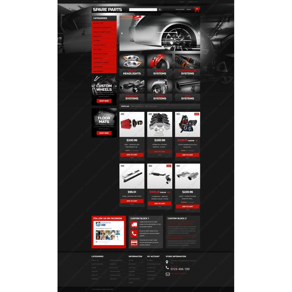 theme - Auto & Moto - Automobile Replacement Parts - 5