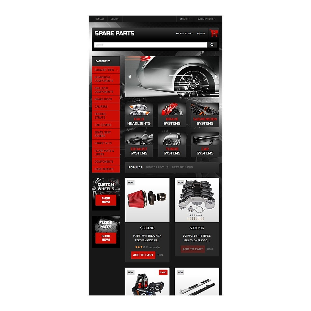 theme - Auto & Moto - Automobile Replacement Parts - 8