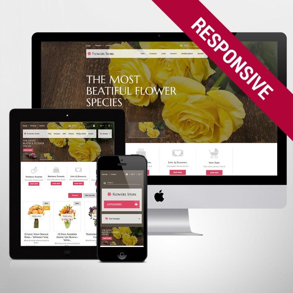 theme - Подарки, Цветы и праздничные товары - Flowers Store - 1