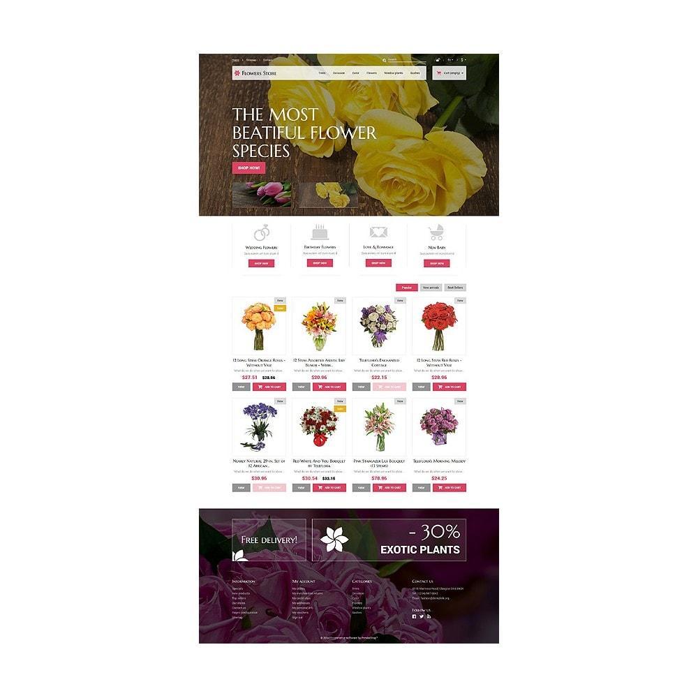 theme - Подарки, Цветы и праздничные товары - Flowers Store - 10